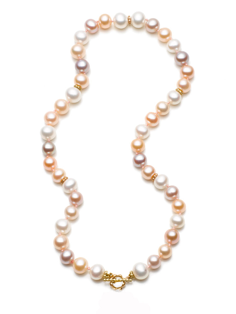 Pretty Pearl Multi-Color Necklace