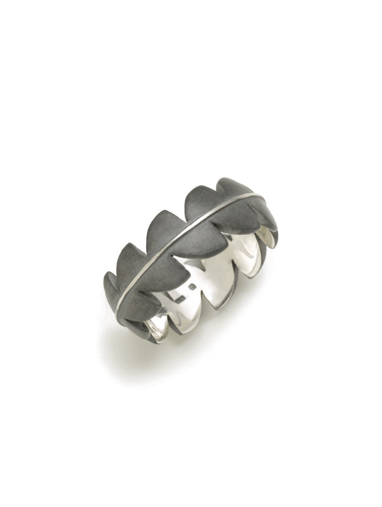 Sterling Silver Sweet Fern Band