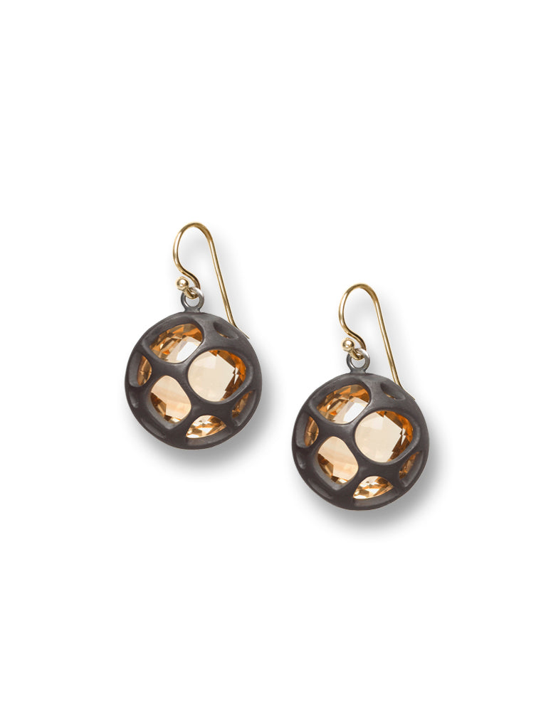 Citrine Barcelona Earrings