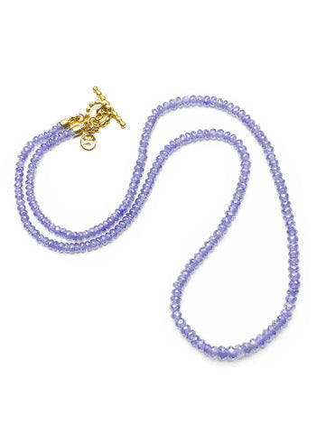 Tanzanite Faceted Bead Strand