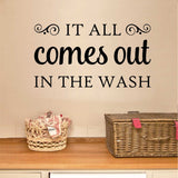 all comes out in wash vinyl wall decal