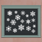 Wall Decal Snowflake Assortment