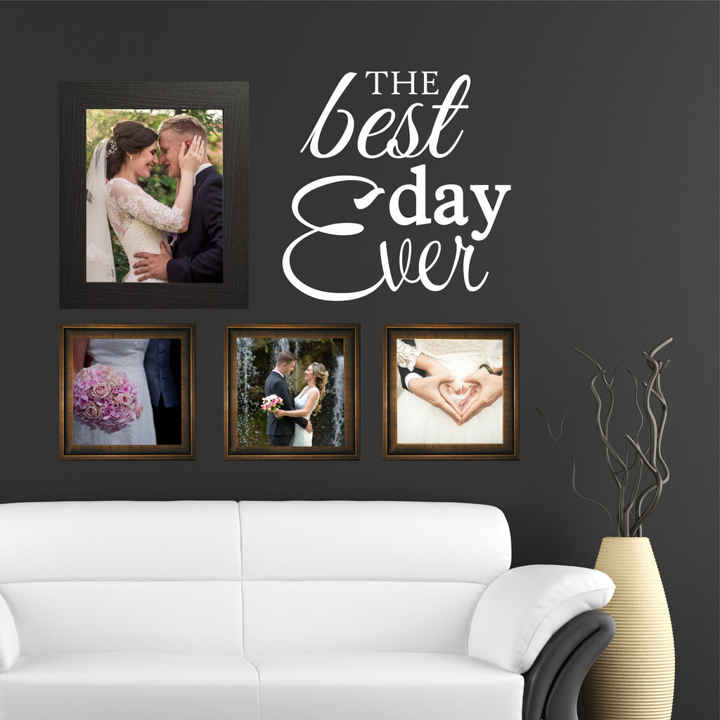 Best Day Ever Decal | Vinyl Wall Lettering | Photo Display Words