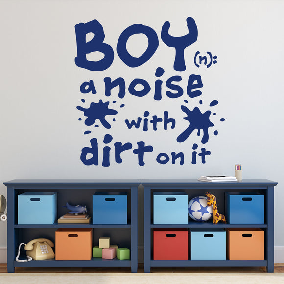 Wall Decal Boy Definition