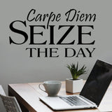 Wall Decal Carpe Diem Seize the Day
