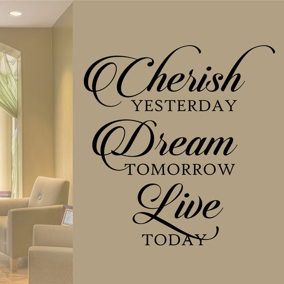Wall Decal Cherish Dream Live