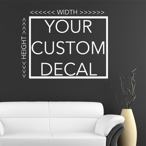 Your Custom Personalized Vinyl Wall Decals Quotes Lettering