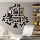 Family Photo Tree Kit Decal | Vinyl Wall Lettering | Wall Quotes