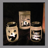 Holiday Decal Assorted Halloween DIY Luminaries Glass Blocks Stickers