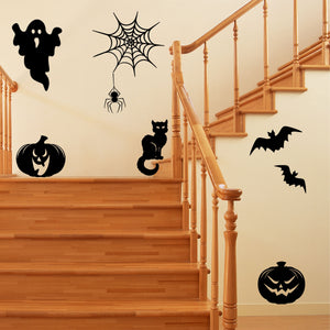Wall Decal Assorted Halloween Spooky Stickers