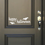 Wall Decal Happy Halloween Door