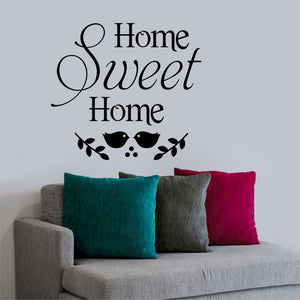 Wall Decal Home Sweet Home