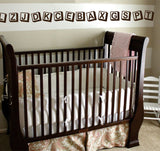 Playroom Wall Decal Alphabet Block Accent Border 16 Feet