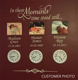 Custom Wall Decal In These Moments Family Names Dates