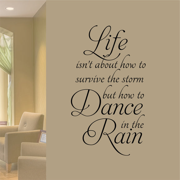 Wall Decal Dance in the Rain