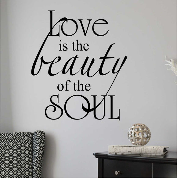 beauty of soul wall decal