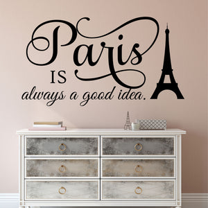 Decal Paris is always a Good Idea