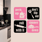 Wall Decal Perk Up Simmer Down