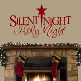 Wall Decal Silent Night Holy Night