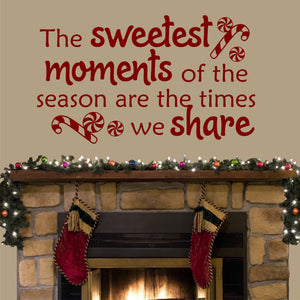 Sweetest Moments wall decal