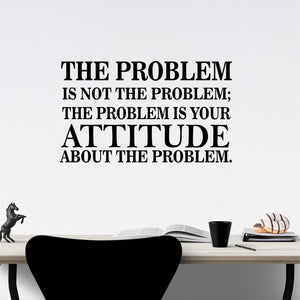 Wall Decal The Attitude Problem