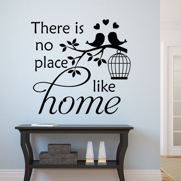 Wall Decal No Place Like Home