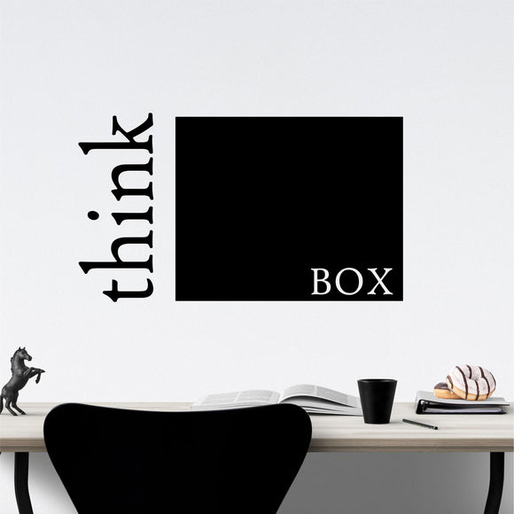Wall Decal Think Outside the Box