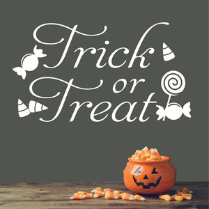 Wall Decal Trick or Treat