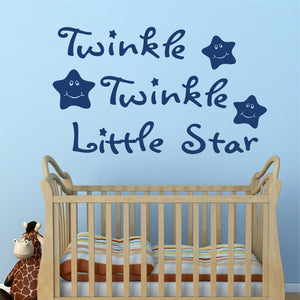 Wall Decal Twinkle Twinkle Little Star