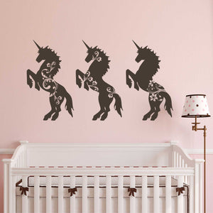 magical nursery unicorn decals