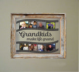 Floating Frame Vinyl Decal Grandkids Photo Film Strip DIY Picture Collage
