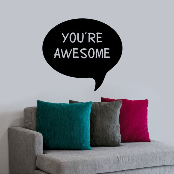 Wall Decal You're Awesome