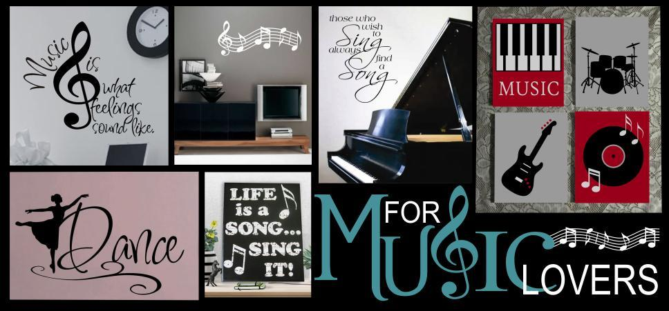 sports and music decor