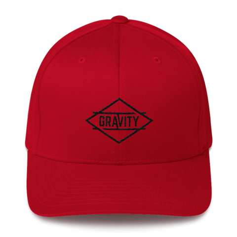 Whistler Red / Black Flexfit Hat