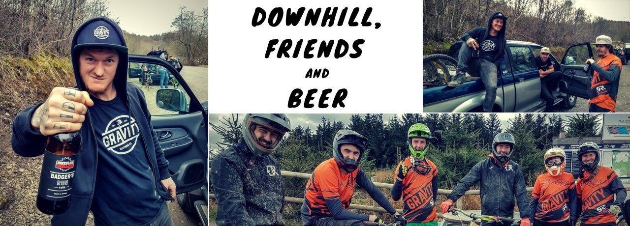 Downhill, Friends and Beer