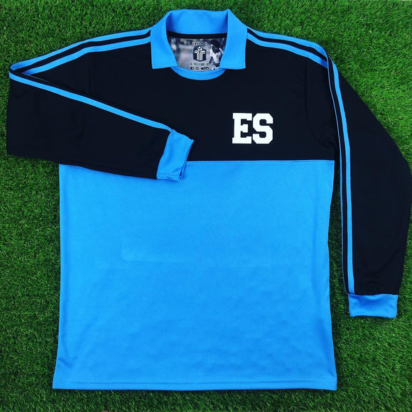 El Salvador, Men's Retro Soccer Jersey,  1982, Goal Keeper