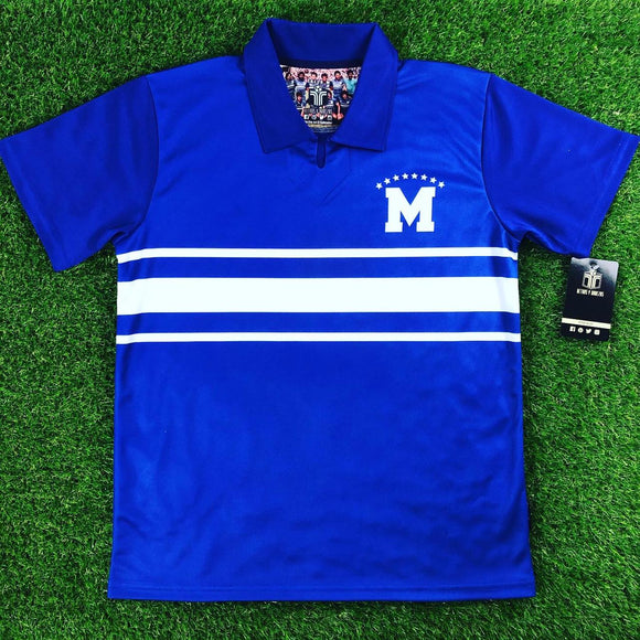 CD Atlético Marte, Men's Retro Soccer Jersey, 1985