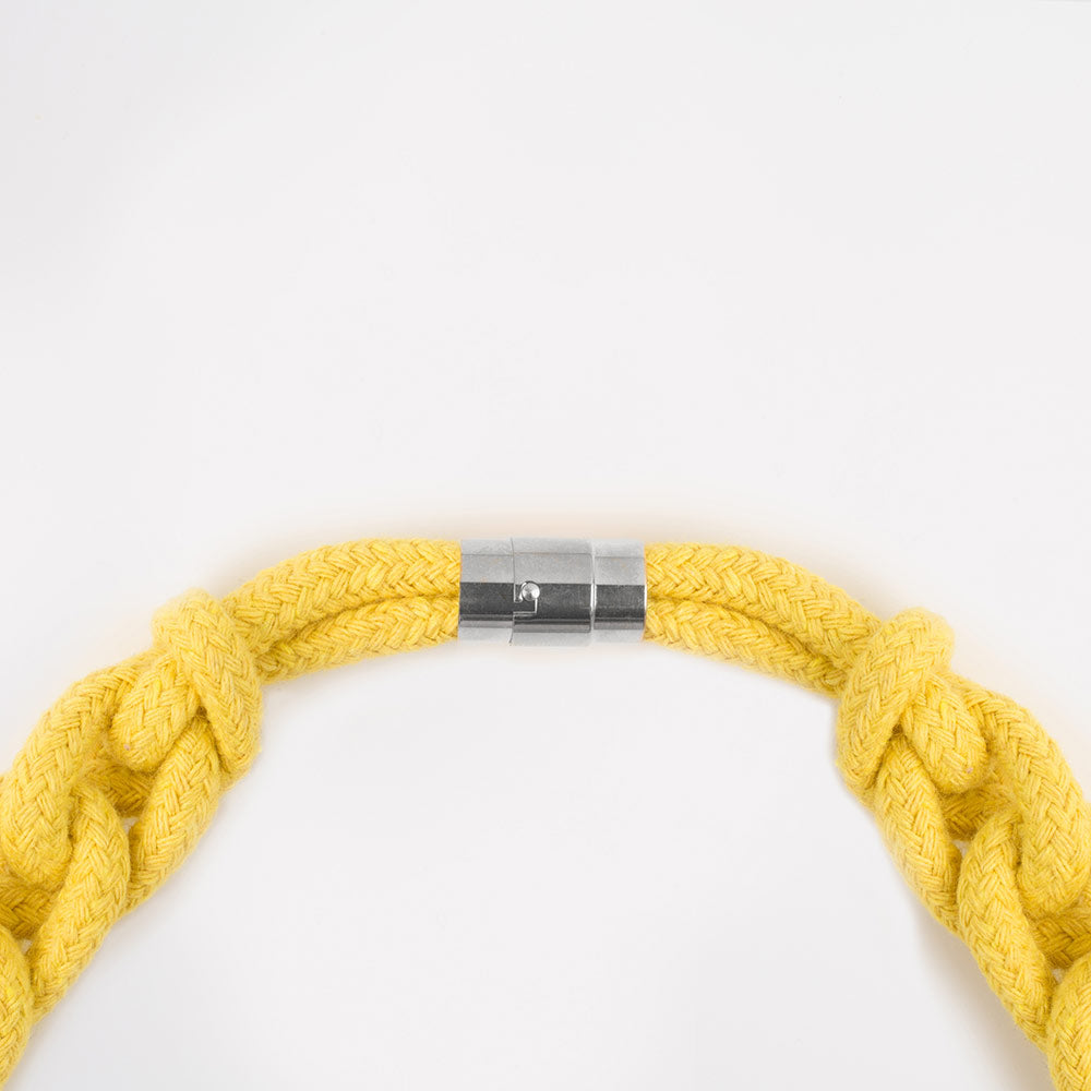 The Diana chain necklace - yellow