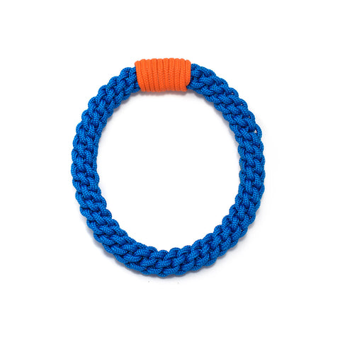 The Tina knotted collar - Blue