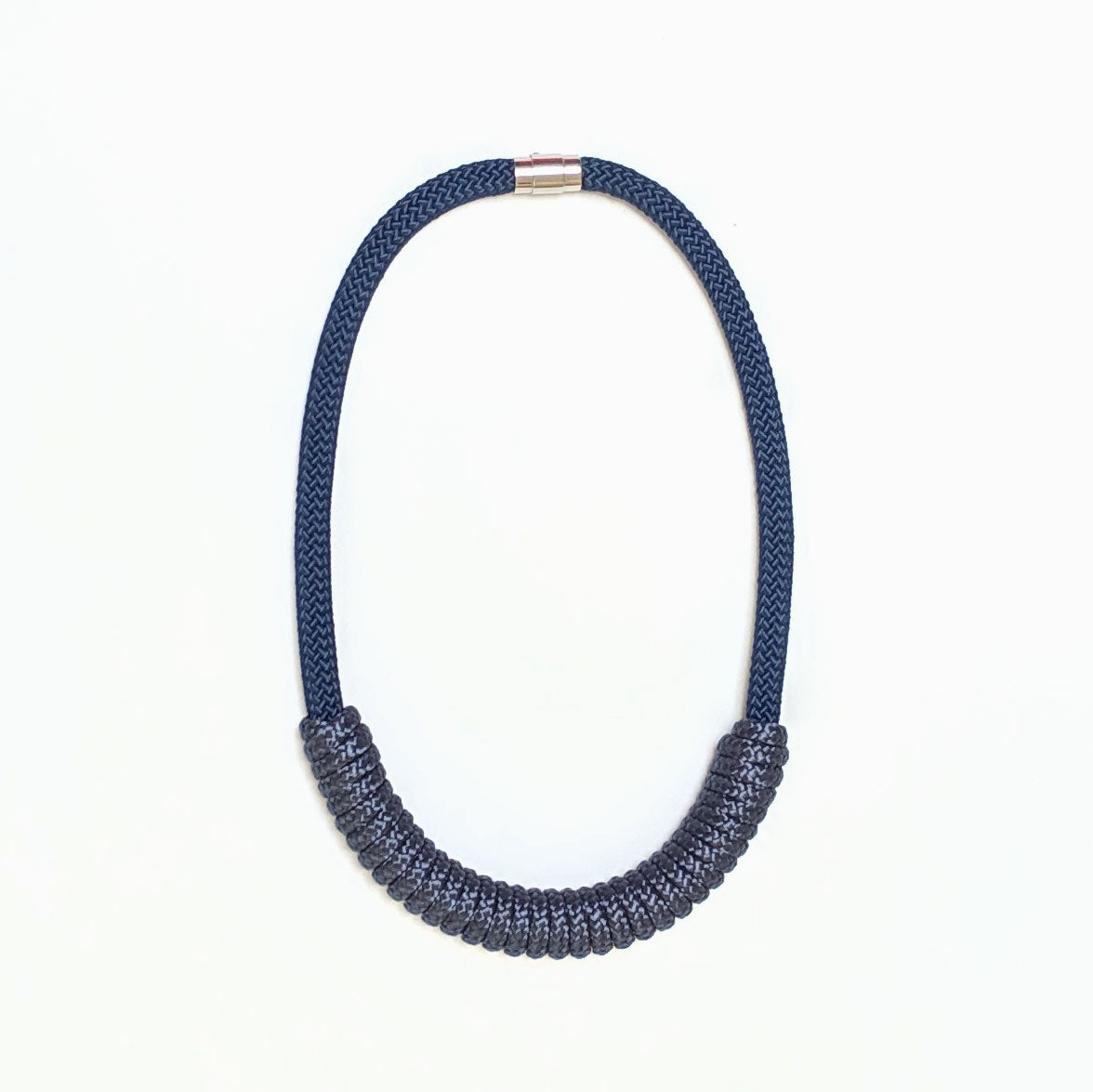 The Billie rope necklace - All Navy