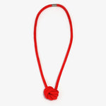 The Rosetta Knotted Pendant - Red