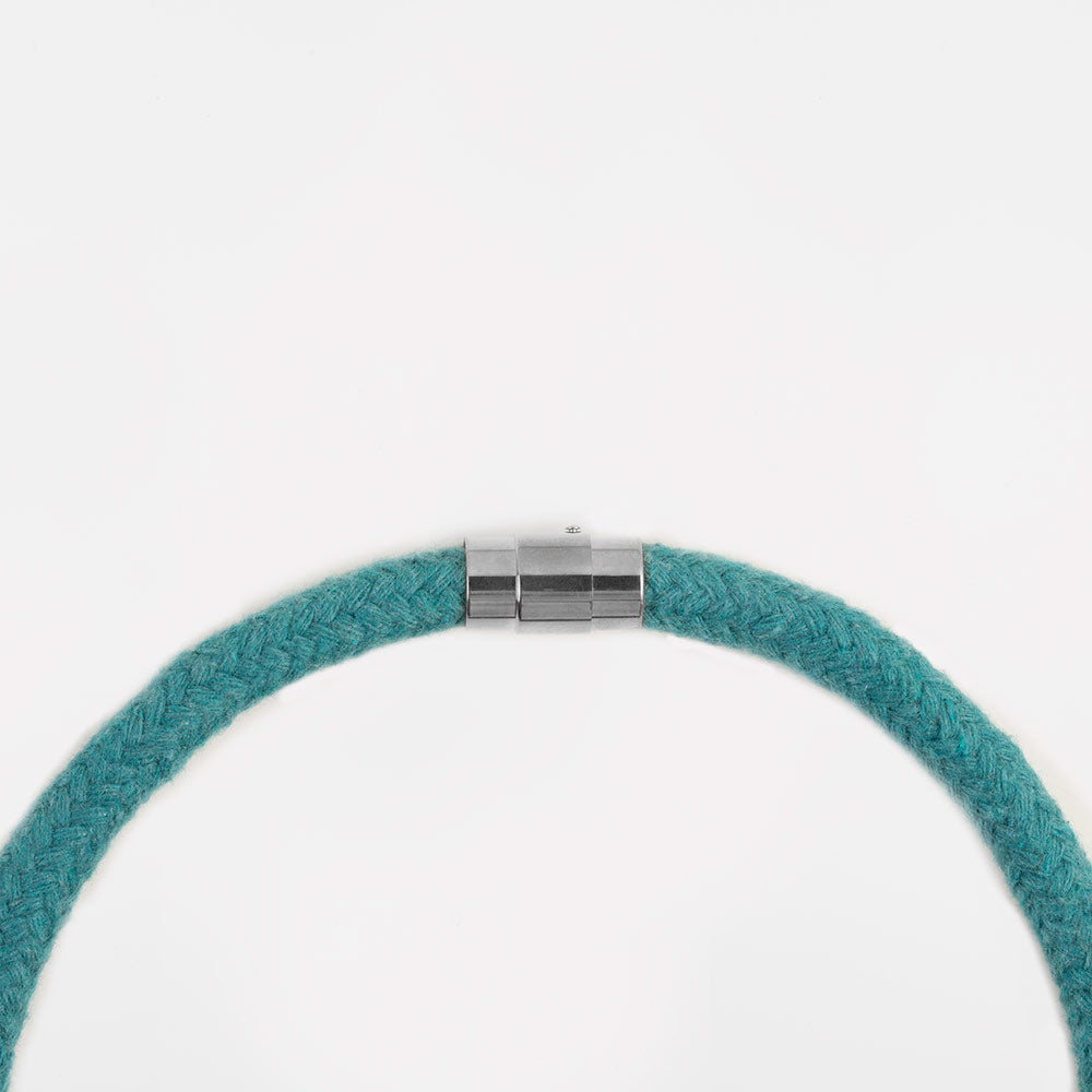 The Rosetta pendant - teal