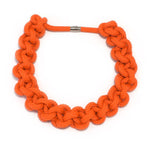 The Betty knotted collar - Orange