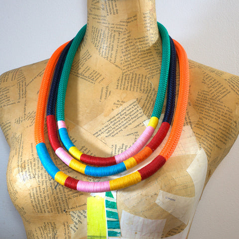 The Janis rope necklace set