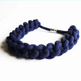 BETTY KNOTTED COLLAR - SOFT NAVY
