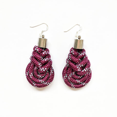 Grace earrings - violet