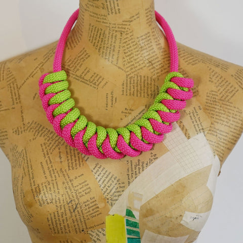 The Stevie necklace - LIMITED EDITION - Pink Watermelon