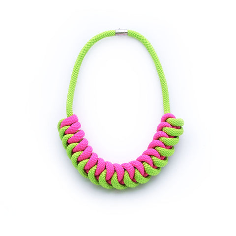 The Stevie necklace - LIMITED EDITION - Green Watermelon
