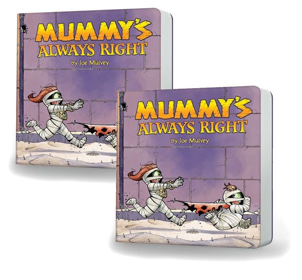 Mummy's Always Right Hardcover Board Book
