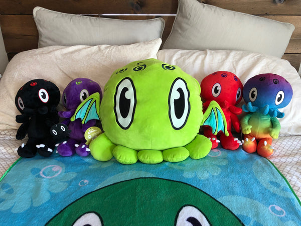 C is for Cthulhu Blanket-Stuffed Plush Pillow [Limited!]